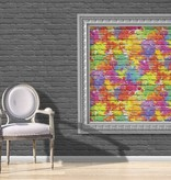 Dutch Wallcoverings Freestyle Bakstenen Graffiti - Multicolor L335-05