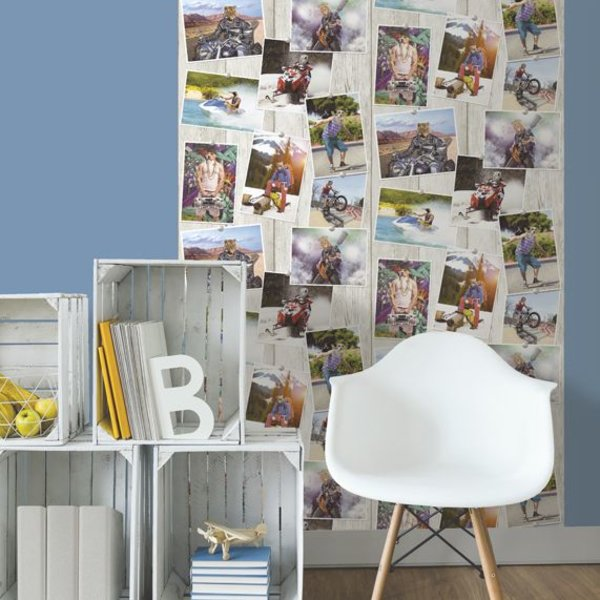 Dutch Wallcoverings Freestyle Dieren foto's - Multicolor L390-01