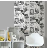 Dutch Wallcoverings Freestyle Dieren foto's - Zwart/wit L390-09