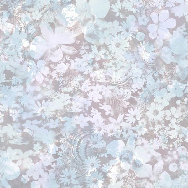 Dutch Wallcoverings Freestyle Bloemen - Blauw