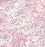 Dutch Wallcoverings Freestyle Bloemen - Roze L391-03