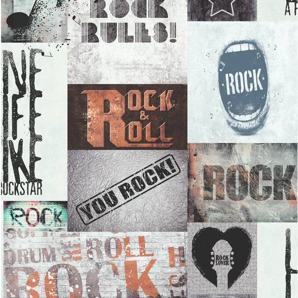 Dutch Wallcoverings Freestyle Rock & Roll