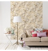 Dutch Wallcoverings Freestyle Houten Hart 102570