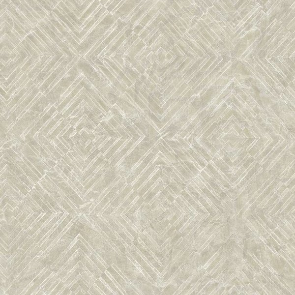 Dutch Wallcoverings Restored Labyrinth - Beige 24001