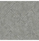 Dutch Wallcoverings Restored Labyrinth - Antraciet 24003