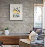 Dutch Wallcoverings Restored Sandstone Wall - Grijs/beige 24023
