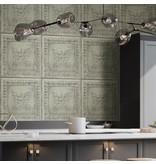 Dutch Wallcoverings Restored Salvaged Wood - Licht groen 24033