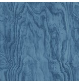 Dutch Wallcoverings Restored Plywood - Blauw 24041