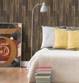 Dutch Wallcoverings Restored Antique Floorboards - Bruin 24049