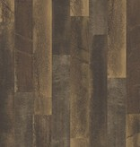 Dutch Wallcoverings Restored Antique Floorboards - Bruin 24049