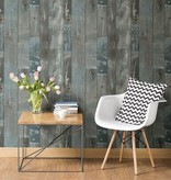 Dutch Wallcoverings Restored Sloophout grijs/blauw 24053