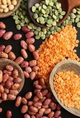 Stoofpot met heerlijke warme smaken van linzen en zoete abrikoos (vegetarisch)