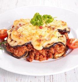 Lasagne pomodori met paddestoelen en kaas