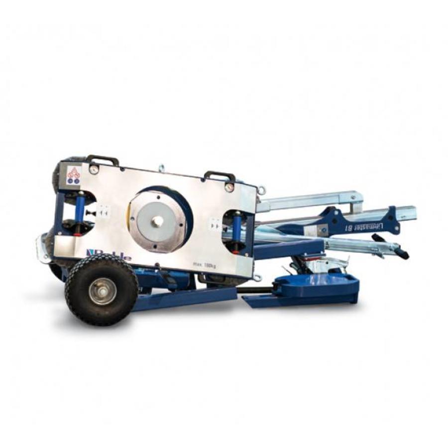 Liftmaster B1 dubbel circuit vacuüm hefinstallatie met een draagkracht tot 180 kg .  Bel ons voor maatwerk!