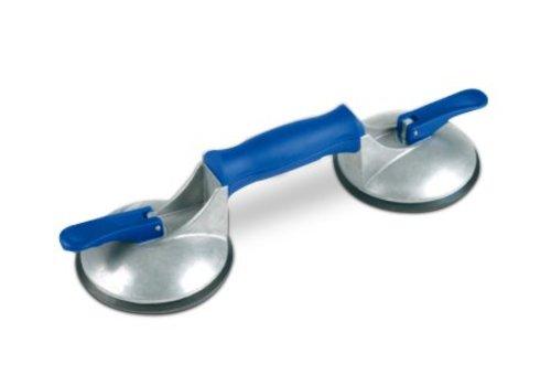 Veribor® ventouse à 2 têtes BO 602.42BL en ALU, 50 kg.