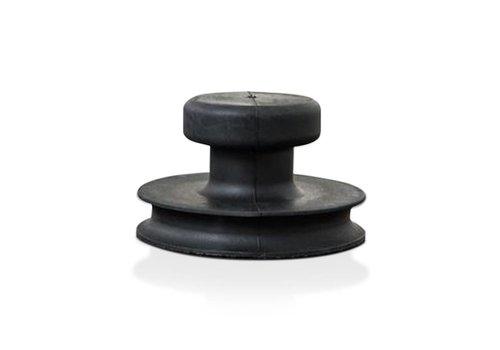 Veribor® glasdrager met knopgreep (BO 609.0), 15 kg