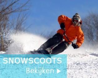 Snowscoot en snow bmx