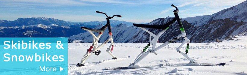 skibikes and snowbikes