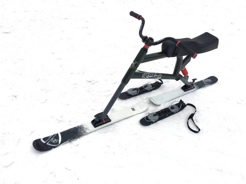 Sledgehammer Racer LIGHT - alternative for Brenter Snowbike Skibike