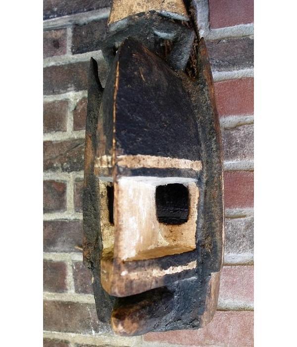 Tribal mask, 'Kanaga' stam. Dogon, Mali 19e/20e eeuw