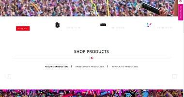 Opening nieuwe webshop!