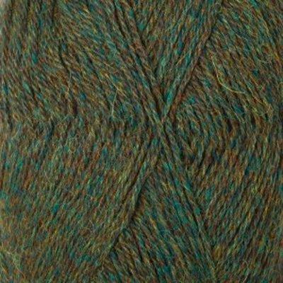 Drops Alpaca groen / turkoois (7815)