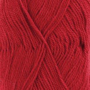 Drops BabyAlpaca Silk rood (3609)