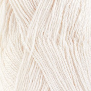 Drops BabyAlpaca Silk wit (1101)