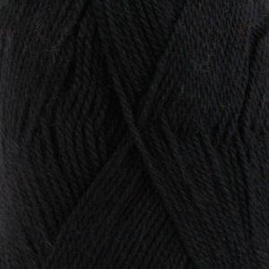 Drops BabyAlpaca Silk zwart (8903)