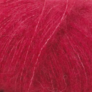 Drops Brushed Alpaca Silk rood (07)