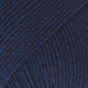 Drops Cotton Merino marineblauw (08)