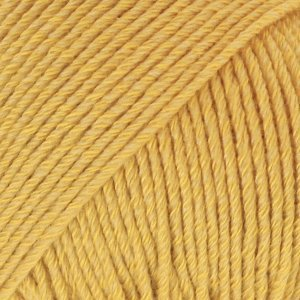 Drops Cotton Merino mosterdgeel (15)