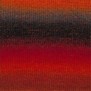 Drops Delight rood/oranje/grijs (13)