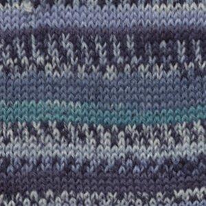 Drops Fabel Print turkoois/blauw (522)