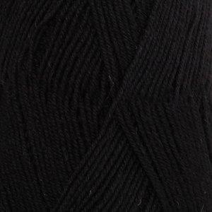 Drops Fabel Uni zwart (400)
