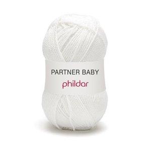 Phildar Partner Baby Blanc (10)
