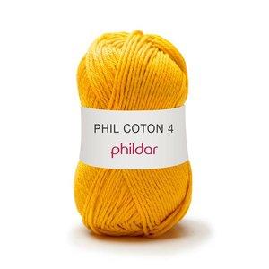 Phildar Phil Coton 4 Tournesol (77) op=op