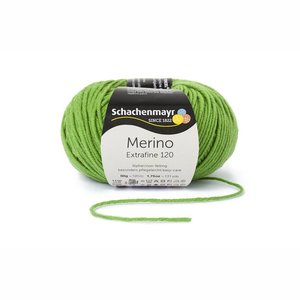Schachenmayr Merino extrafine 120 appelgroen (173)