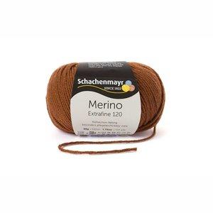 Schachenmayr Merino extrafine 120 bruin (111)
