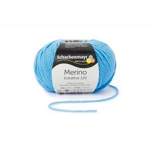 Schachenmayr Merino extrafine 120 hemelsblauw (165)