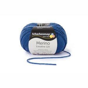 Schachenmayr Merino extrafine 120 jeansblauw (154)