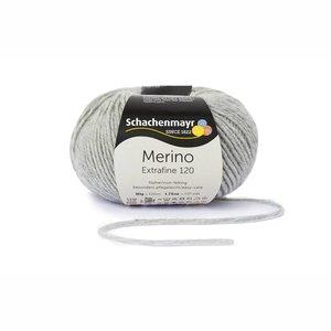 Schachenmayr Merino extrafine 120 lichtgrijs (190)