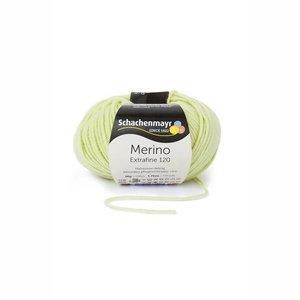 Schachenmayr Merino extrafine 120 limoen (175)