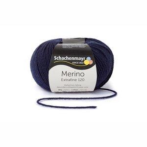 Schachenmayr Merino extrafine 120 marine (150)