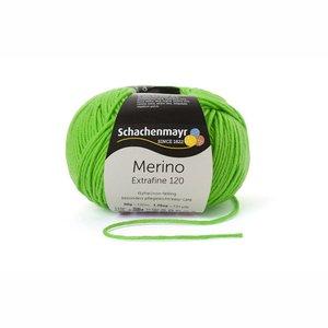 Schachenmayr Merino extrafine 120 neongroen (170)