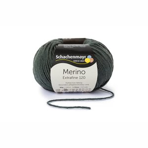 Schachenmayr Merino extrafine 120 olijf (171)