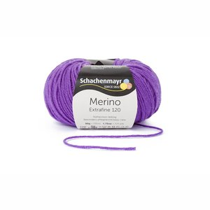 Schachenmayr Merino extrafine 120 violet (147)