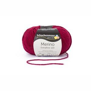 Schachenmayr Merino extrafine 120 wijnrood (132)