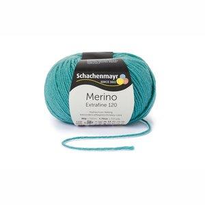 Schachenmayr Merino extrafine 120 zeegroen (176)