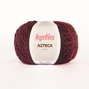 Katia Azteca donkerpaars-grijs-lila (7831)